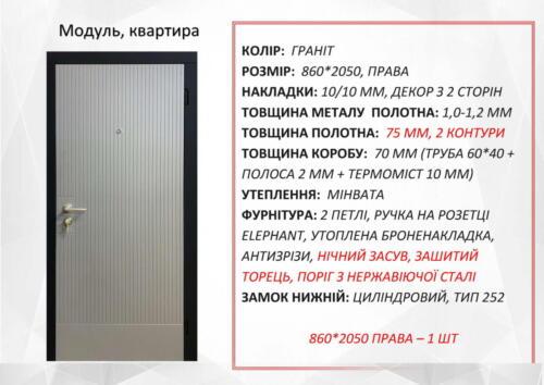 Модуль 860 п